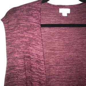 Heathered Maroon Joy, Sweater BNWT LuLaRoe XL